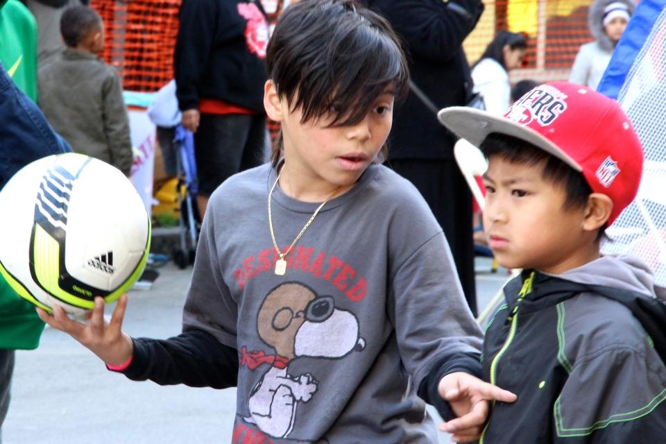 Health Fair & Sports Bash PART 1,3/2013