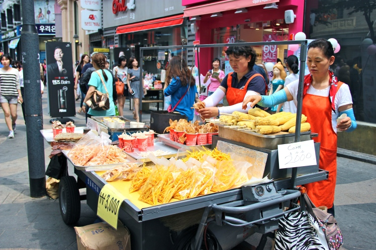 Street food. Again.
