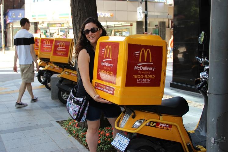 McDonalds delivers!!