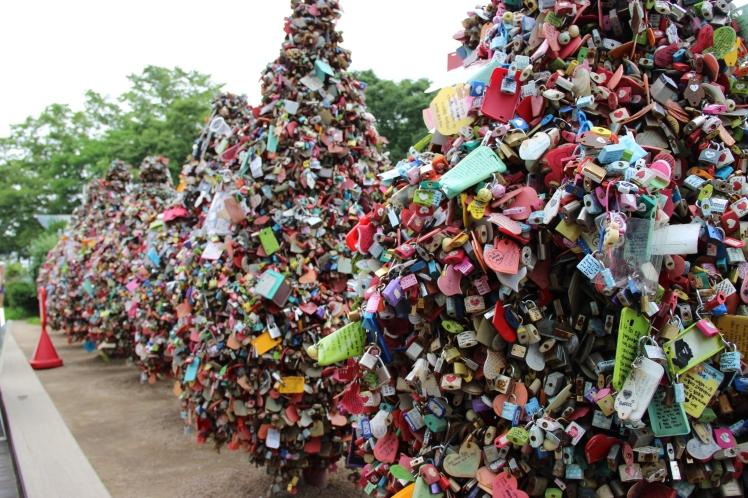 Love padlocks!