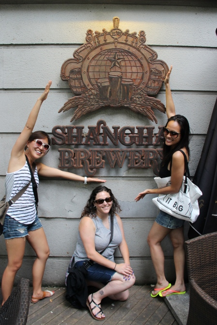 First stop when we arrived, Shanghai Brewery, of course!