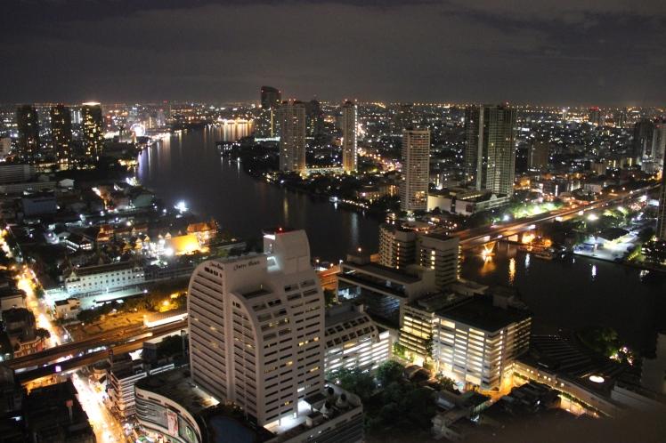 Bangkok has a much prettier night view.