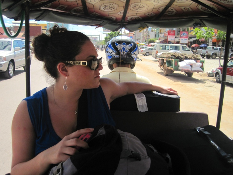 We found ourselves the sweetest tuk-tuk driver upon arrival, who would become our driver for the next 3 days.