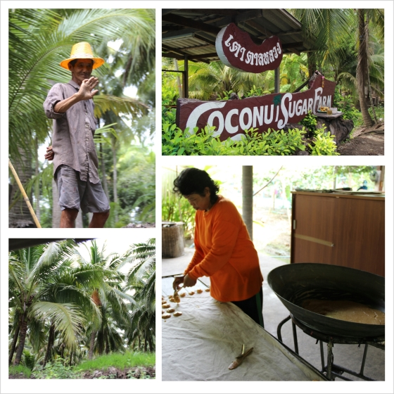 On our way back, we stopped by a Coconut Sugar Farm as well.