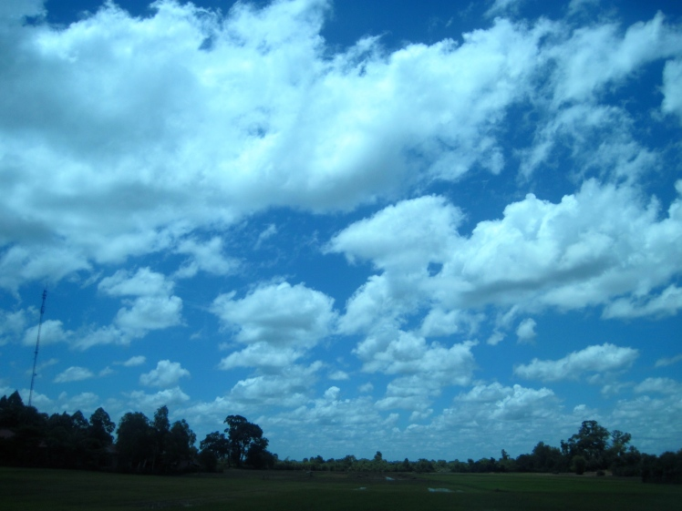 ... underneath a great blue sky.